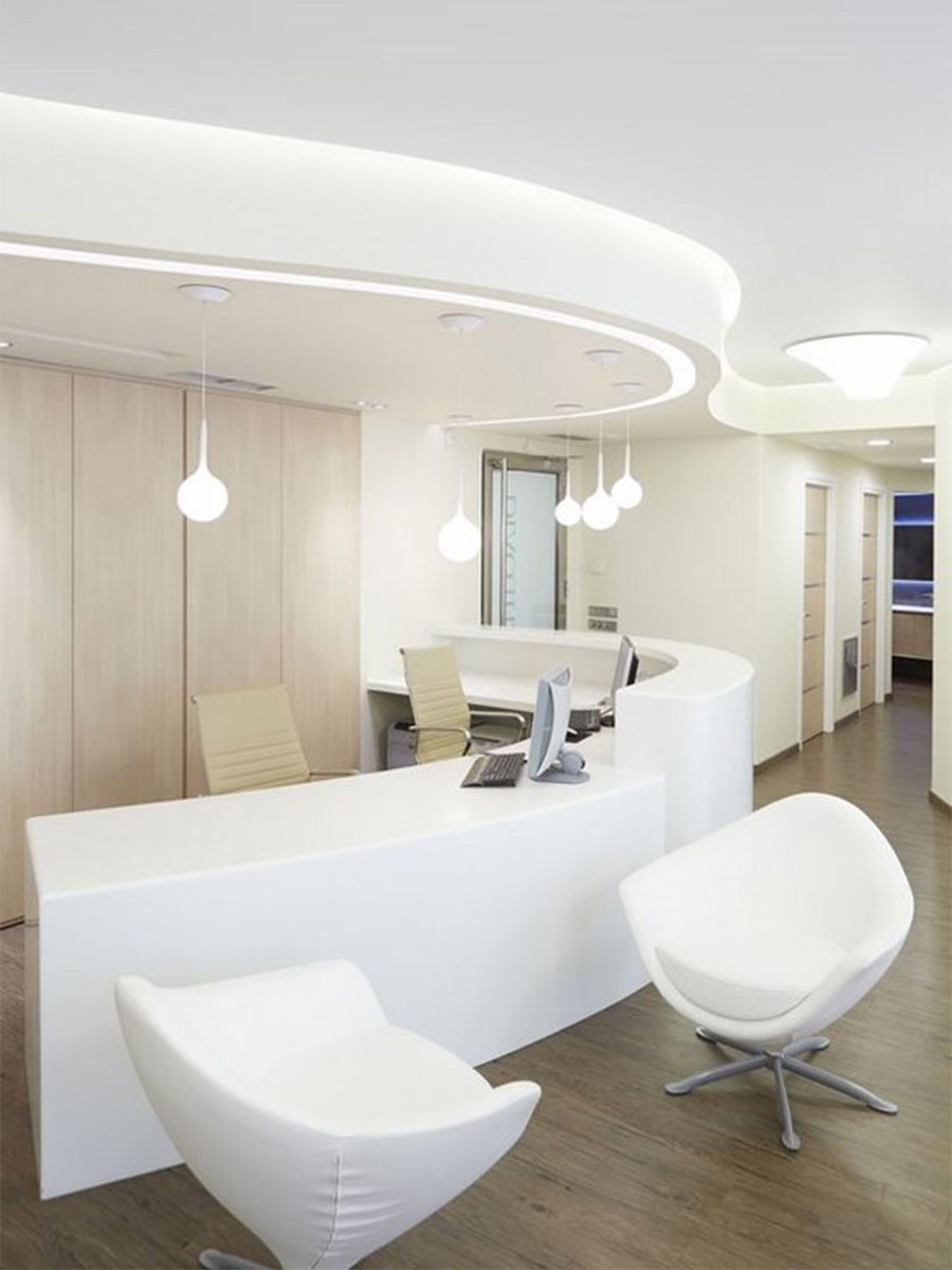 meganite office fitout design
